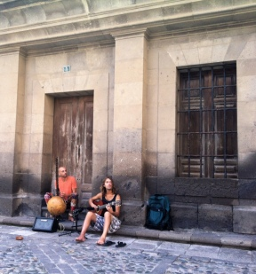 Here I went to listen to Marco and Chris playing music in Vegueta. It was one of the most inspiring days of 2016.