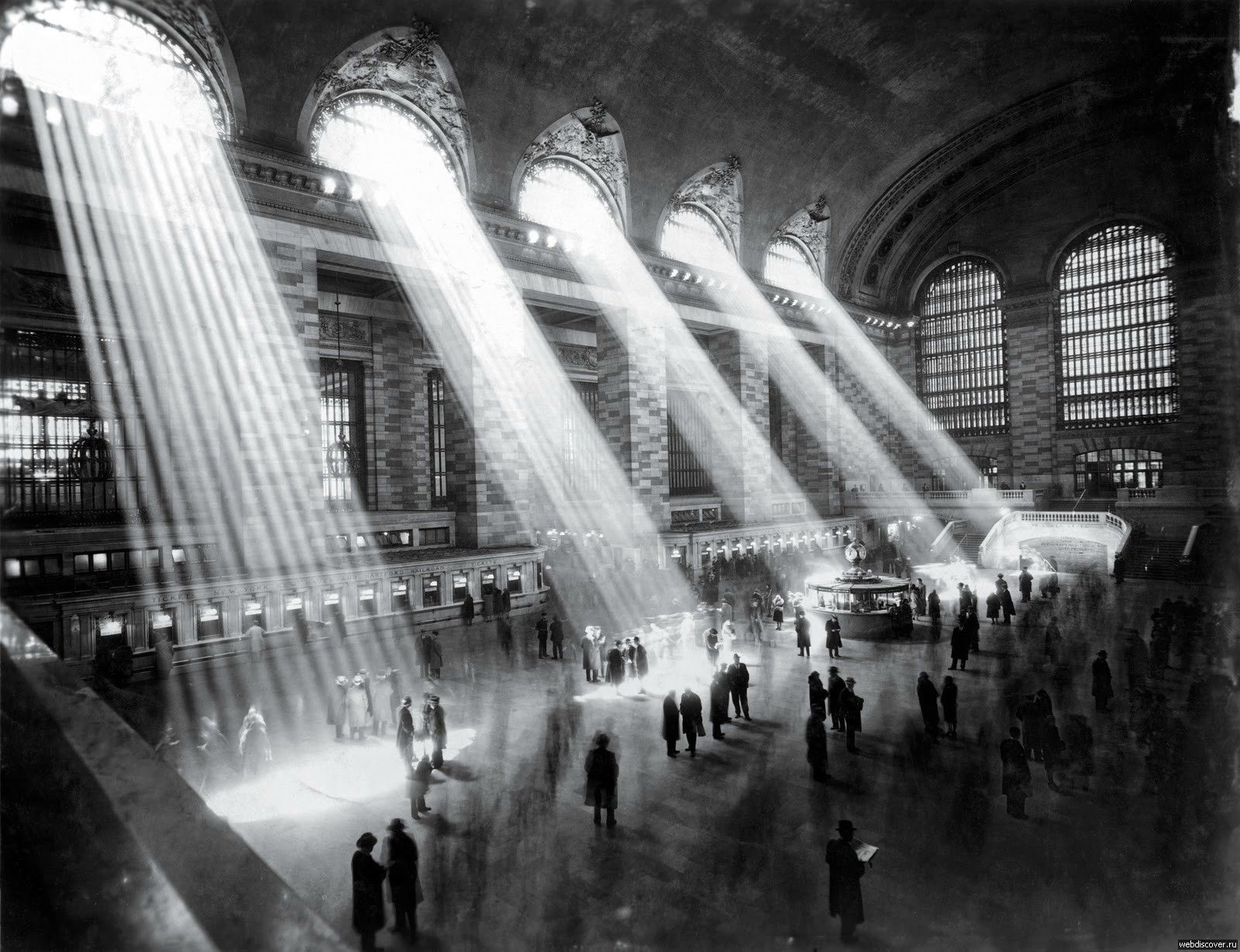 Hal Morey - New York Central Station - 1929